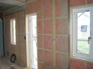 壁内部防湿フィルム貼り