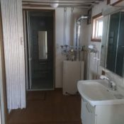 改修前洗面脱衣室